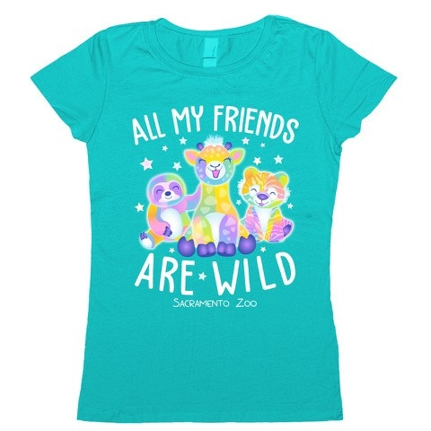 YOUTH TEE ALL MY FREINDS ARE WILD