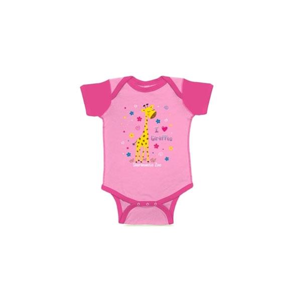 INFANT ONESIE I HEART GIRAFFES