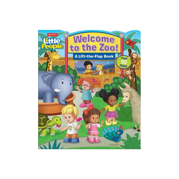 WELCOME TO THE ZOO BOARD BOOK