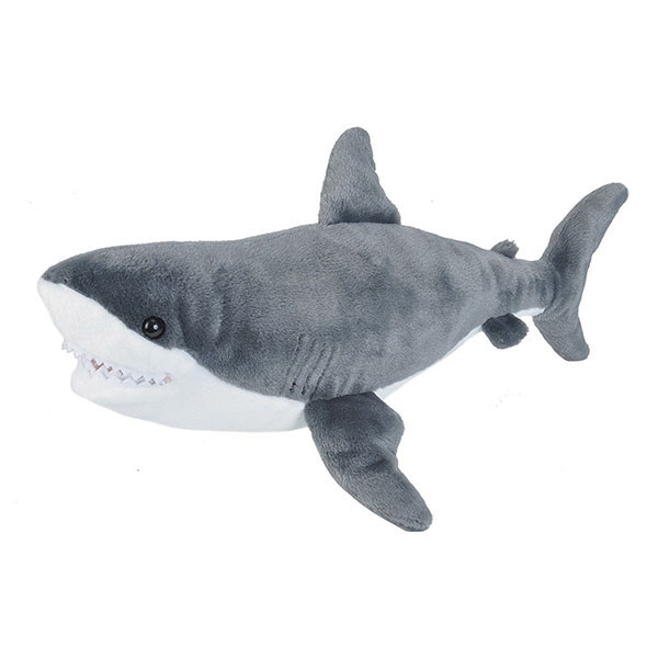 GREAT WHITE SHARK PLUSH