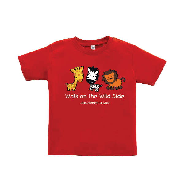 WALK ON THE WILD SIDE TODDLER TEE