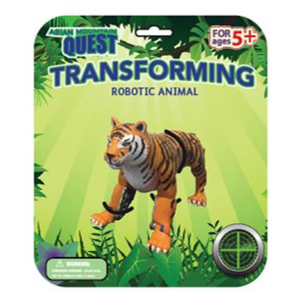 ASIAN QUEST TRANSFORMING ANIMAL TIGER