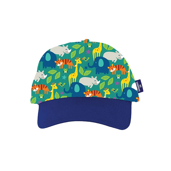 TODDLER CAP STACK ZOO BLUE