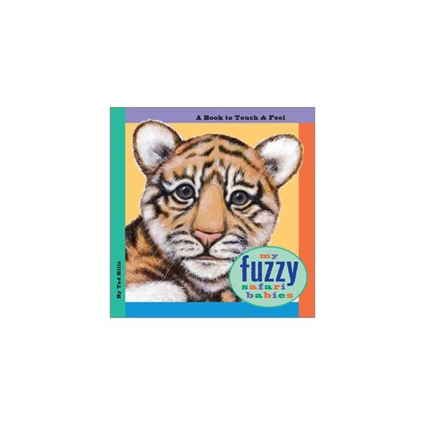 MY FUZZY SAFARI ZOO BOARD BOOK