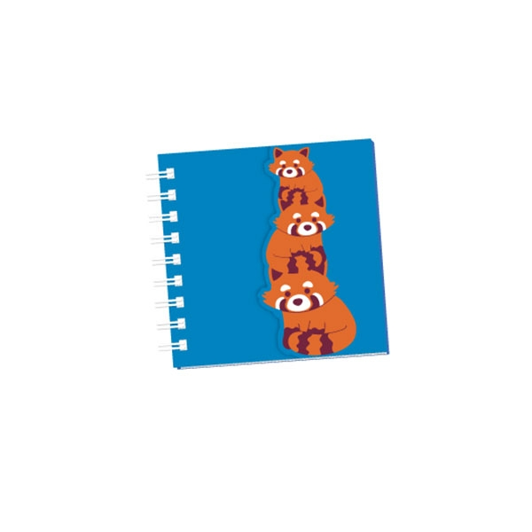 NOTEPAD RED PANDA