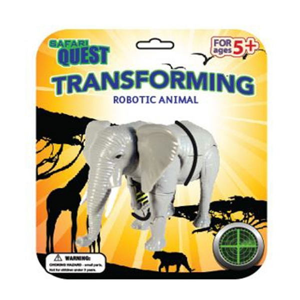 SAFARI QUEST TRANSFORMING ANIMAL ELEPHANT